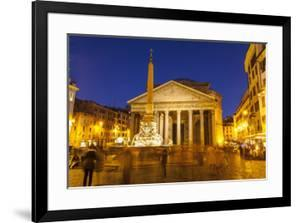 Piazza Della Rotonda and the Pantheon, Rome, Lazio, Italy, Europe by Julian Elliott
