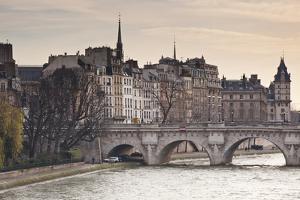 Pont Neuf and the Ile De La Cite in Paris, France, Europe by Julian Elliott