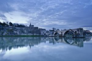 Saint-Benezet Bridge Dating from the 12th Century by Julian Elliott