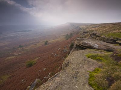Stanage Edge, Peak District National Park, Derbyshire, England, United Kingdom, Europe by Julian Elliott