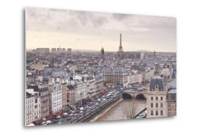The City of Paris as Seen from Notre Dame Cathedral, Paris, France, Europe