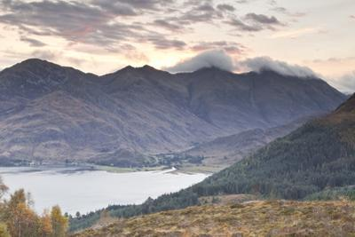 The Five Sisters of Kintail in the Scottish Highlands, Scotland, United Kingdom, Europe by Julian Elliott