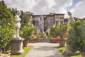 The Gardens of Palazzo Pfanner in Lucca Which Date Back to the 17th Century by Julian Elliott
