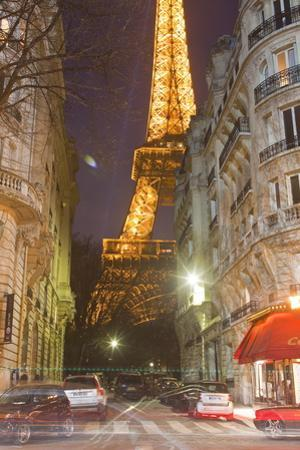 The Iconic Eiffel Tower Lit Up at Dusk in Central Paris, France, Europe by Julian Elliott