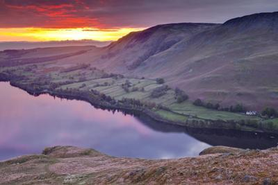 Ullswater in the Lake District National Park, Cumbria, England, United Kingdom, Europe by Julian Elliott