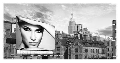 A Billboard in Manhattan