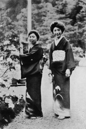 You cannot understand Japan without understanding the Japanese woman', c1900, (1921)