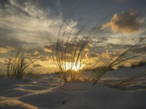 Ft. Pickens Sunset at Pensacola Beach, FL by Julian Loftis