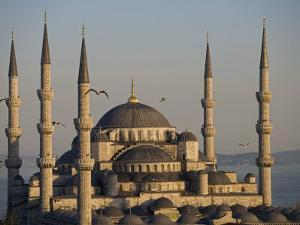 Blue Mosque, Istanbul, also known as the Sultanhamet Mosque, Gives its Name to the Surrounding Area by Julian Love