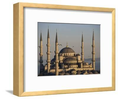 Blue Mosque, Istanbul, also known as the Sultanhamet Mosque, Gives its Name to the Surrounding Area