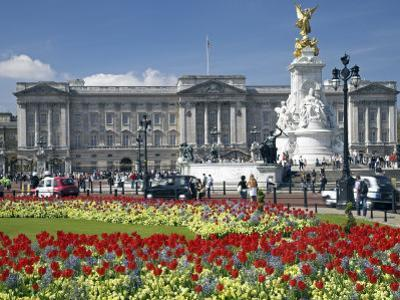 Buckingham Palace Is the Official London Residence of the British Monarch by Julian Love