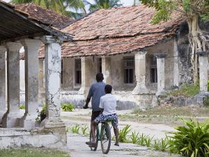 Crumbling Colonial Villas on Ibo Island, Part of the Quirimbas Archipelago, Mozambique by Julian Love