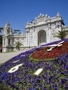 European Influenced Dolmabahce Palace in Istanbul, Turkey, Home of the Ottoman Sultans after 1853 by Julian Love