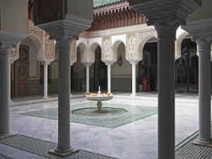 Interior of the Famous Mamounia Hotel in Marrakech by Julian Love