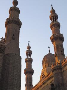 Minarets of Sultan Hassan Mosque and Al Raifi Mosque in Cairo, Egypt by Julian Love