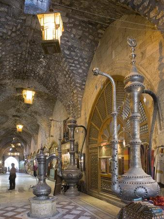 Souq Ash-Shouna in Aleppo, Syria