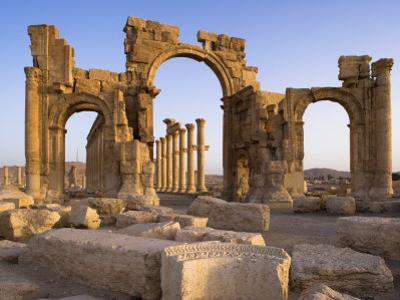 Spectacular Ruined City of Palmyra, Syria by Julian Love