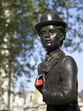 Statue of Charlie Chaplin in Leicester Square, in the Heart of London's West End by Julian Love