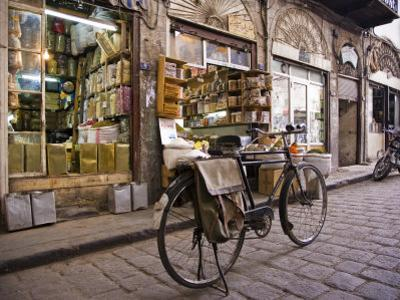 Street Scene in the Old City, Damascus, Syria by Julian Love