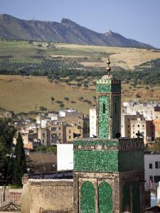 View across the Old Medina of Fes, Morocco by Julian Love