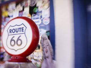 Artistic Blur, Route 66, Seligman, Arizona, USA by Julian McRoberts