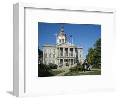 New Hampshire State Capitol, Concord, New Hampshire, New England, USA