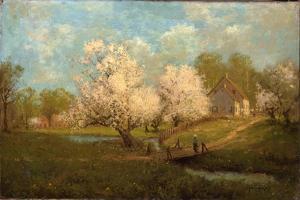 Spring Blossoms by Julian Robert Onderdonk