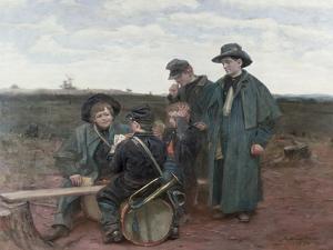 Drummer Boy, 1891 by Julian Scott