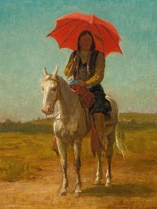 Horseman, Anadarko, Oklahoma, 1890 by Julian Scott