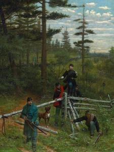 Union Vanguard, 1889 by Julian Scott