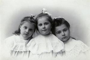 Portrait of Children, Baku, Azerbaijan, 1909 by Julian Stanislavovich Zelinsky