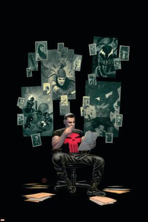 Thuderbolts #12 Cover: Punisher, Venom, Elektra, Deadpool, Red Hulk