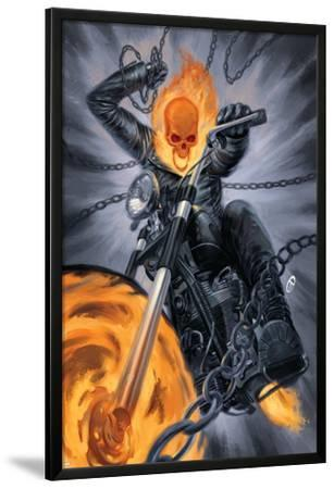 Thunderbolts #20 Cover: Ghost Rider