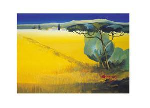 Tuscany Blue I by Juliane Jahn