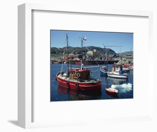 Julianehab, Greenland, Polar Regions-Lomax David-Framed Photographic Print