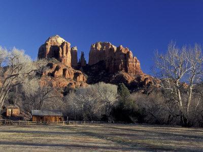 Cathedral Rock, Slide Rock State Park, Sedona, Arizona, USA