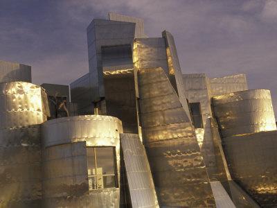 Frank Gehry's Weisman Museum, Minneapolis, Minnesota, USA