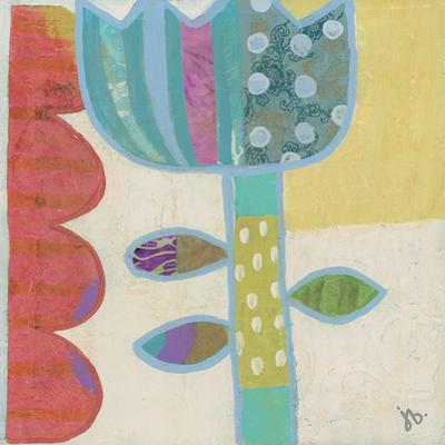 Blue Flower by Julie Beyer