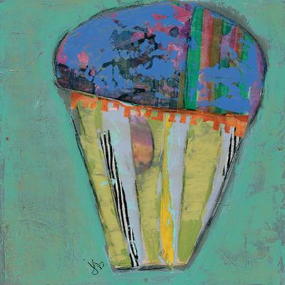Cupcake Iii (Blue Icing) by Julie Beyer