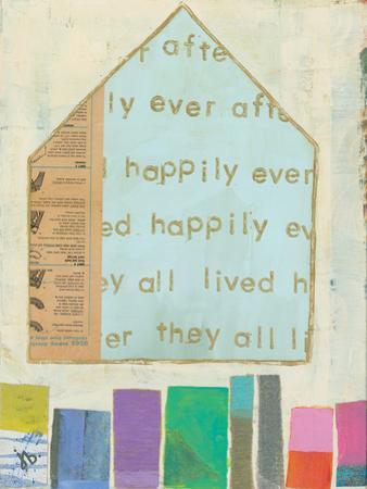Happy Home In Blue by Julie Beyer