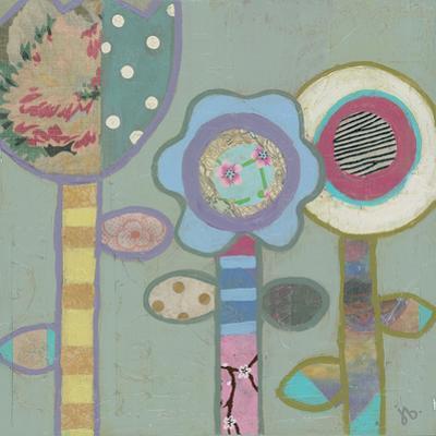 Three Flowers by Julie Beyer