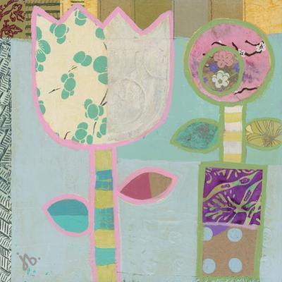 Two Flowers by Julie Beyer