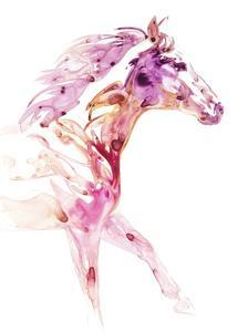 Garnet Horse IV by Julie Chapman