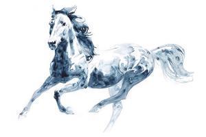 Sapphire Gallop II by Julie Chapman