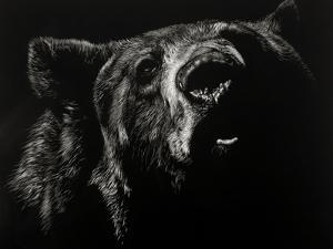 Scratchboard Critic by Julie Chapman