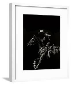 Scratchboard Rodeo I by Julie Chapman
