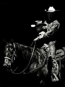Scratchboard Rodeo II by Julie Chapman