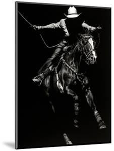 Scratchboard Rodeo III by Julie Chapman