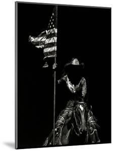 Scratchboard Rodeo VI by Julie Chapman