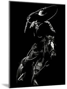 Scratchboard Rodeo VII by Julie Chapman